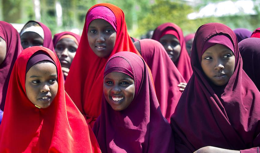 Hamar Jajab School, Mogadishu. Annabel Moeller Photography